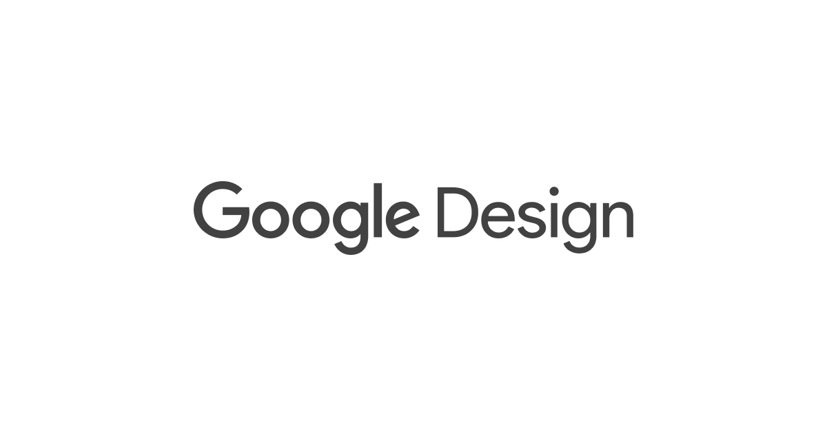 Jobs - Google Design